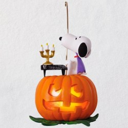 The Peanuts® Gang Spooky Snoopy Musical Halloween Ornament