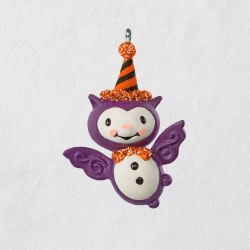 Mini Bitty Bat Halloween Ornament