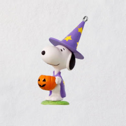 Mini Peanuts® Trick-or-Treat Snoopy Halloween Ornament