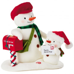 Special Delivery Snowmen Musical Stuffed Animal
