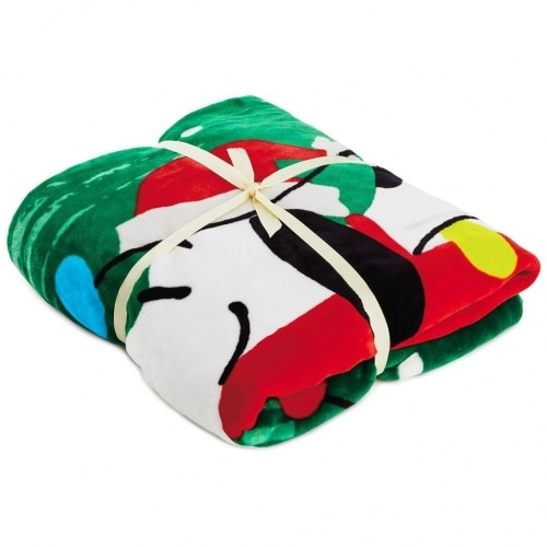 Peanuts® Snoopy Christmas Doghouse Blanket