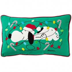 Peanuts® Snoopy Christmas Light-Up Pillow