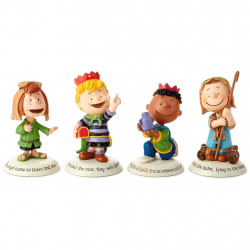 Glad Tidings Peanuts® Nativity Additional Characters Set