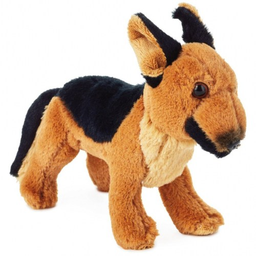 German Shepherd Dog Stuffed Animal, 7.25