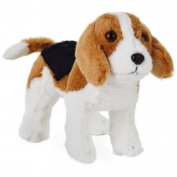 Beagle Dog Stuffed Animal, 6.25