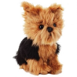 Yorkshire Terrier Dog Stuffed Animal, 6.5