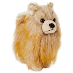 Pomeranian Dog Stuffed Animal, 6.75