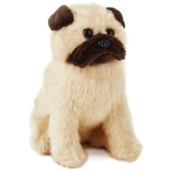 Pug Dog Stuffed Animal, 6