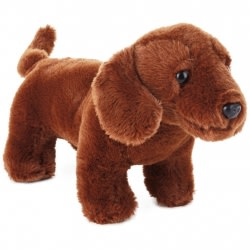 Dachshund Dog Stuffed Animal, 5.5