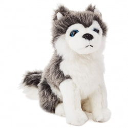 Siberian Husky Dog Stuffed Animal, 6