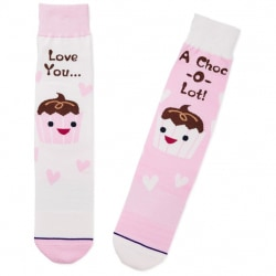 Love You a Choc-o-Lot Toe of a Kind Socks