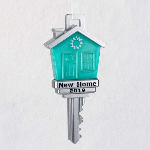 New Home 2019 Metal Ornament
