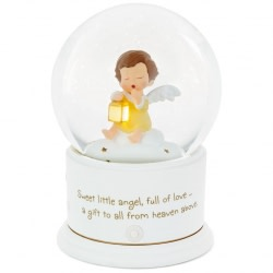 Mary's Angels Light Up Lullaby Water Globe