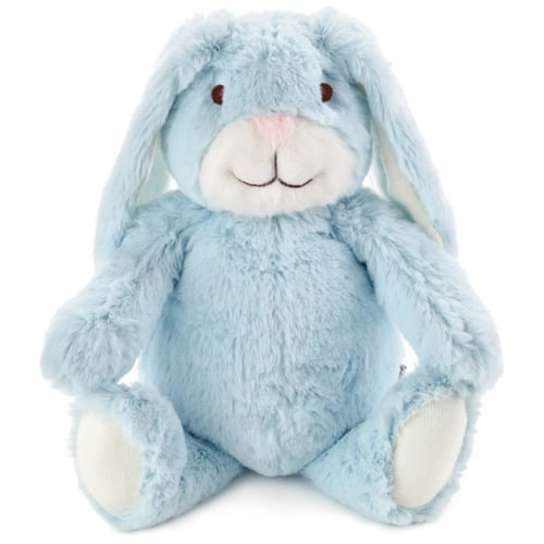 Blue Bunny Stuffed Animal With Chime