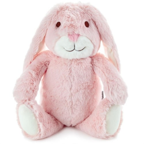 Pink Bunny Stuffed Animal With Chime