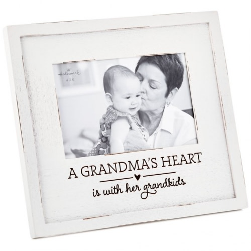 A Grandma's Heart Wood Picture Frame