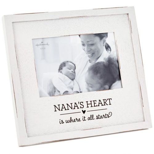 Nana's Heart Wood Picture Frame