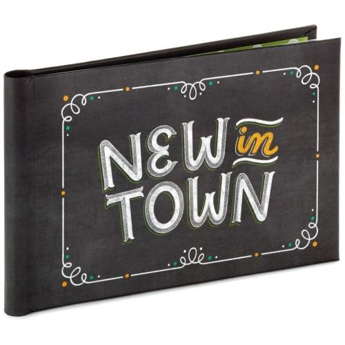 New in Town Baby Brag Book Photo Album