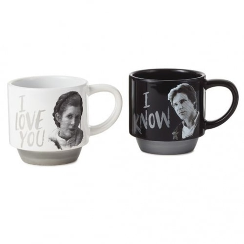 Star Wars™ Han Solo™ and Princess Leia™ Love You Mug Set