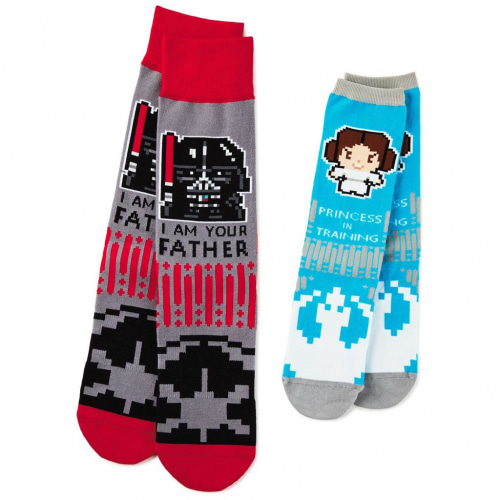 Star Wars™ PXL8® Father and Daughter Socks, Set of 2
