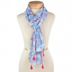 Mark & Hall Blue Boho Wrap