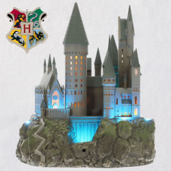 Harry Potter™ Collection Hogwarts™ Castle Musical Tree Topper