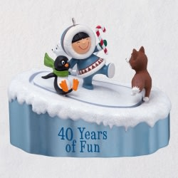 Frosty Friends 40th Anniversary Ornament With Motion