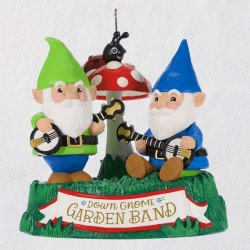 Dueling Gnomes Musical Ornament