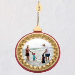A Memorable Year 2019 Metal Photo Frame Ornament