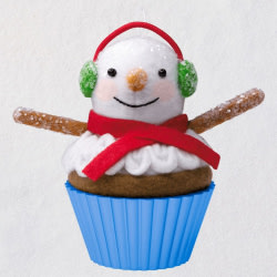 Christmas Cupcakes That's Snow Sweet! Special Edition Ornament