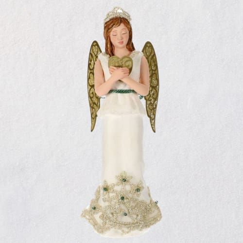 Christmas Angels Love Ornament