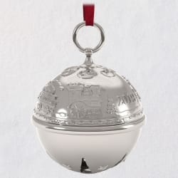 Ring in the Season Jingle Bell 2019 Metal Ornament