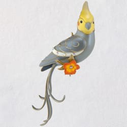 Clever Cockatiel Exclusive Ornament