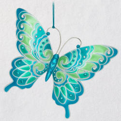 Brilliant Butterflies Ornament