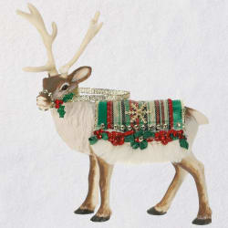 Father Christmas's Reindeer Ornament