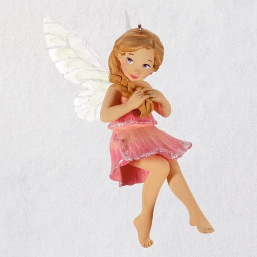 Fairy Messengers Sweet Pea Fairy Ornament