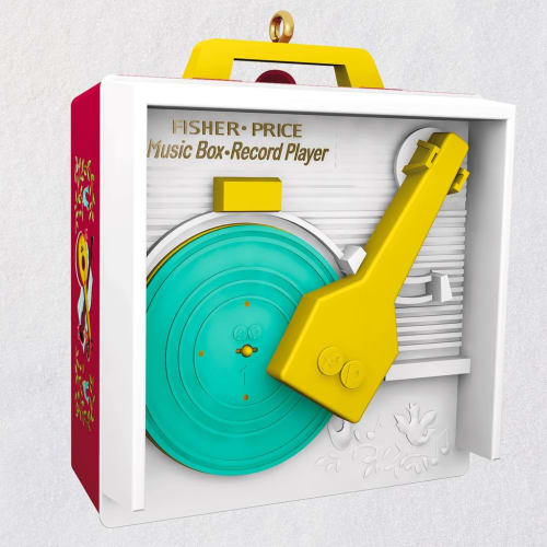 Fisher-Price™ Music Box Record Player Musical Ornament