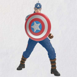 Marvel Studios Avengers: Endgame Captain America Ornament