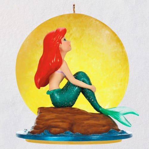 Disney The Little Mermaid Part of Your World Musical Ornament Wi