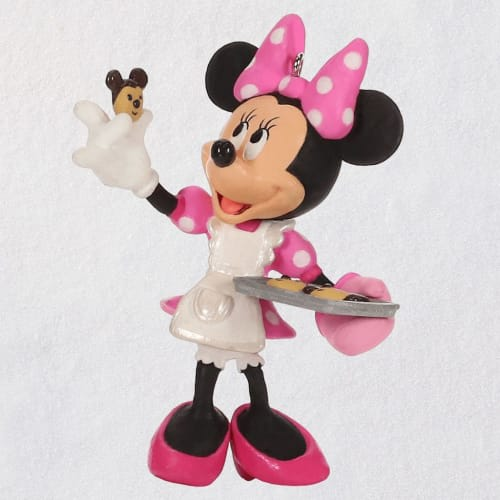 Disney Minnie Mouse One Smart Cookie Ornament
