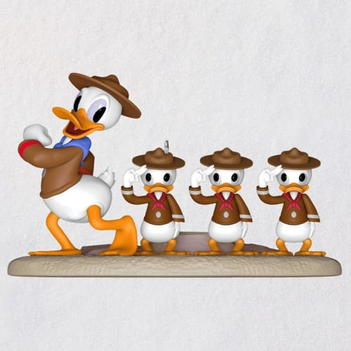 Disney Donald Duck Good Scouts Ornament