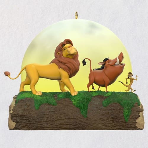 Disney The Lion King 25th Anniversary Musical Ornament