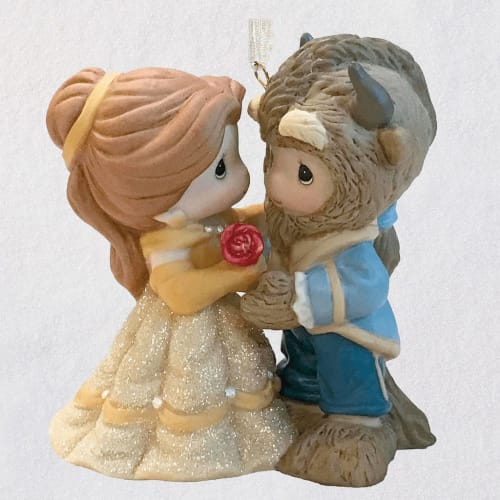 Disney Beauty and the Beast Belle and Beast Precious Moments®