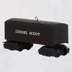 Lionel® 1001T Scout Tender Metal Ornament