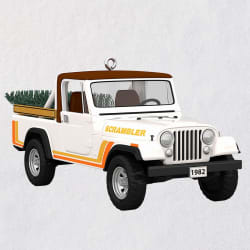 All-American Trucks 1982 Jeep CJ-8 Scrambler Metal Ornament
