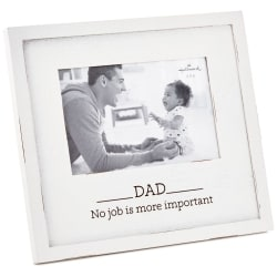 Dad Most Important Job Wood Picture Frame