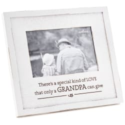 Grandpa Special Kind of Love Wood Picture Frame