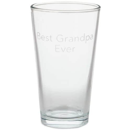 Best Grandpa Ever Pint Glass