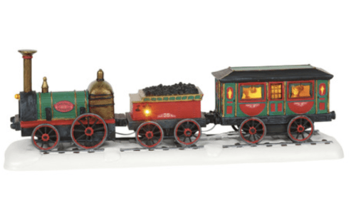 The Emerald Express Train