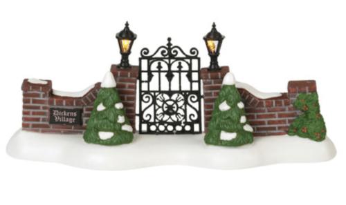 Dickens' Village Gate